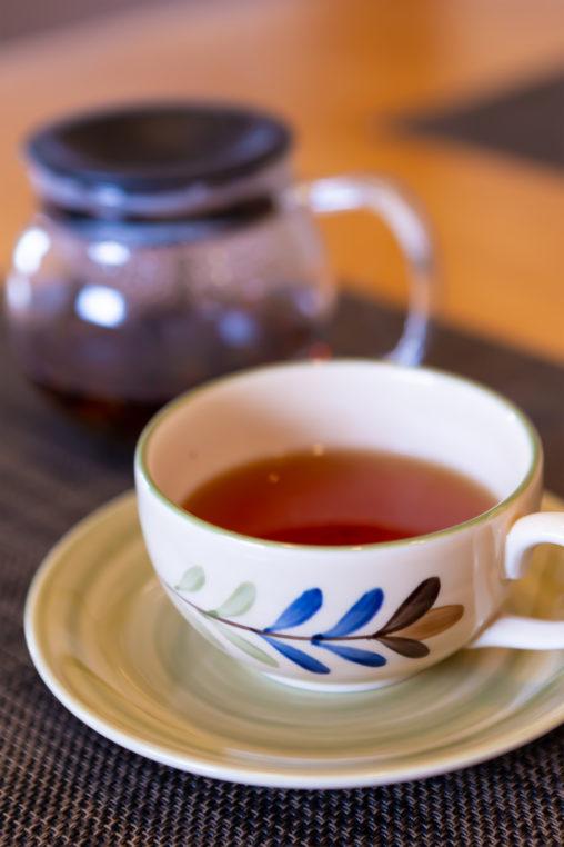 紅茶02(カップとソーサー)の写真素材