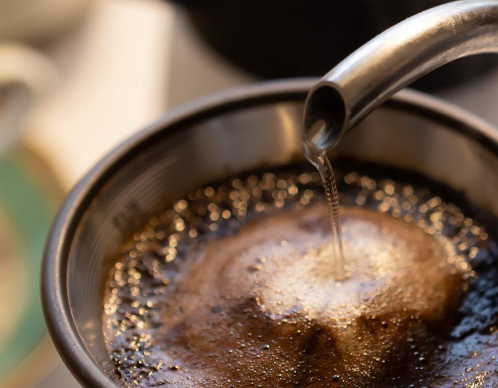 ドリップコーヒー(珈琲)02の写真素材