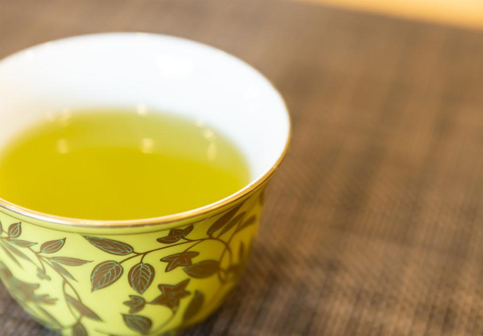 日本茶(緑茶)の写真素材