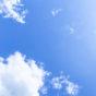 日差しと晴天の空02の写真素材