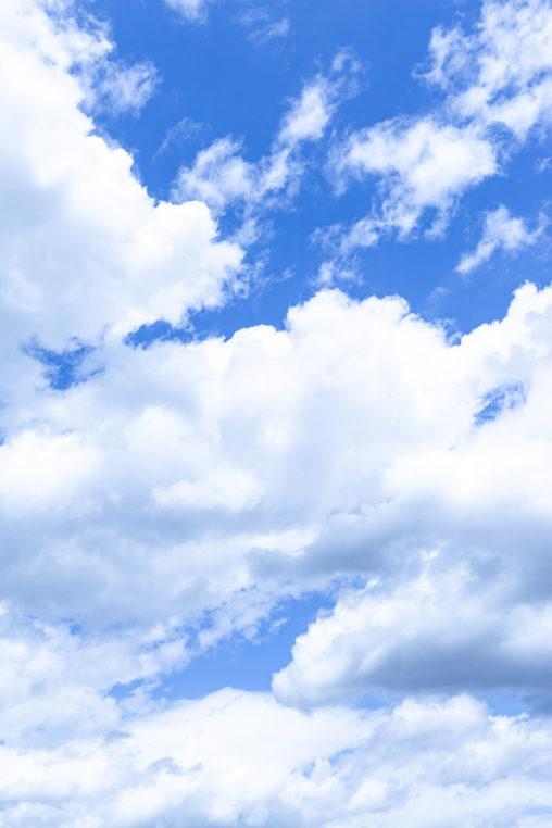 空と雲02の写真素材