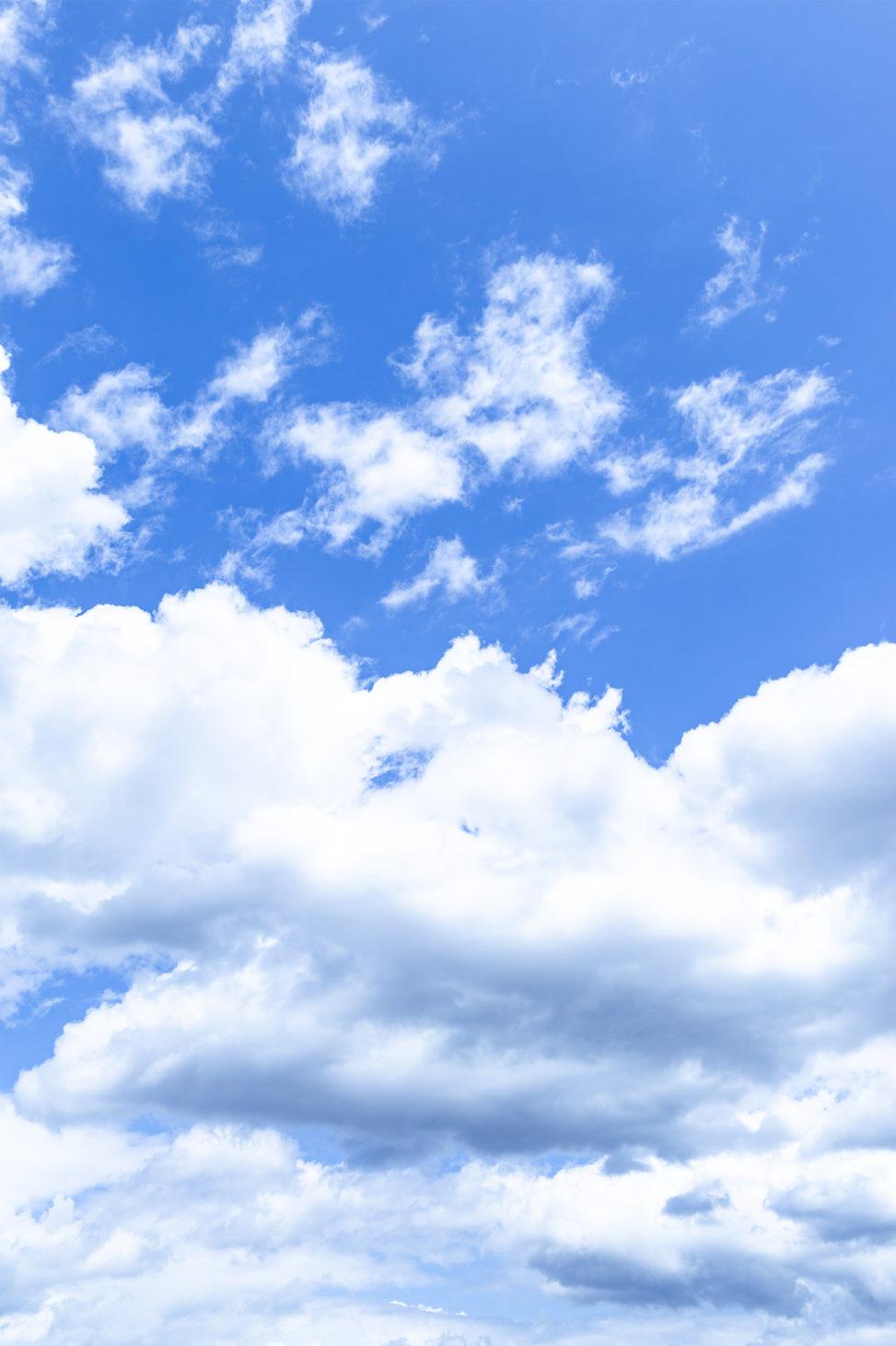 空と雲03の写真素材