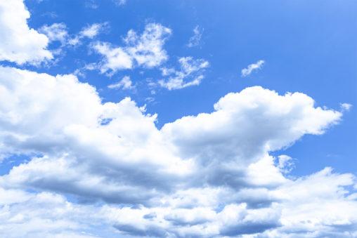 空と雲04の写真素材