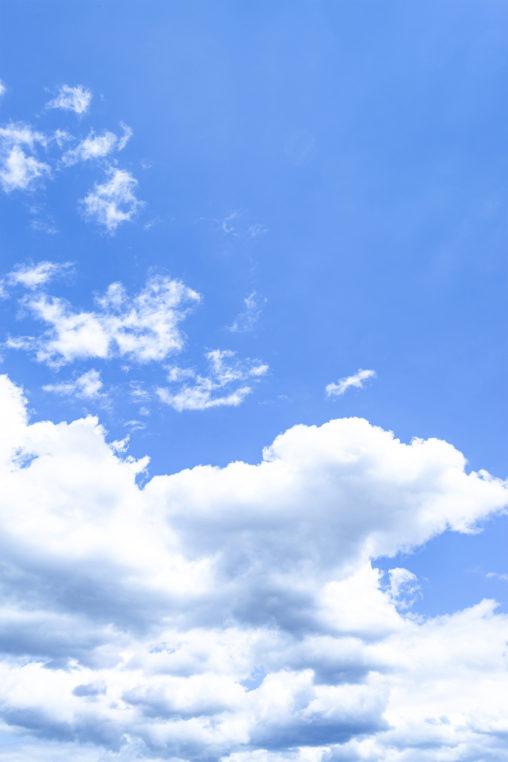 空と雲05の写真素材