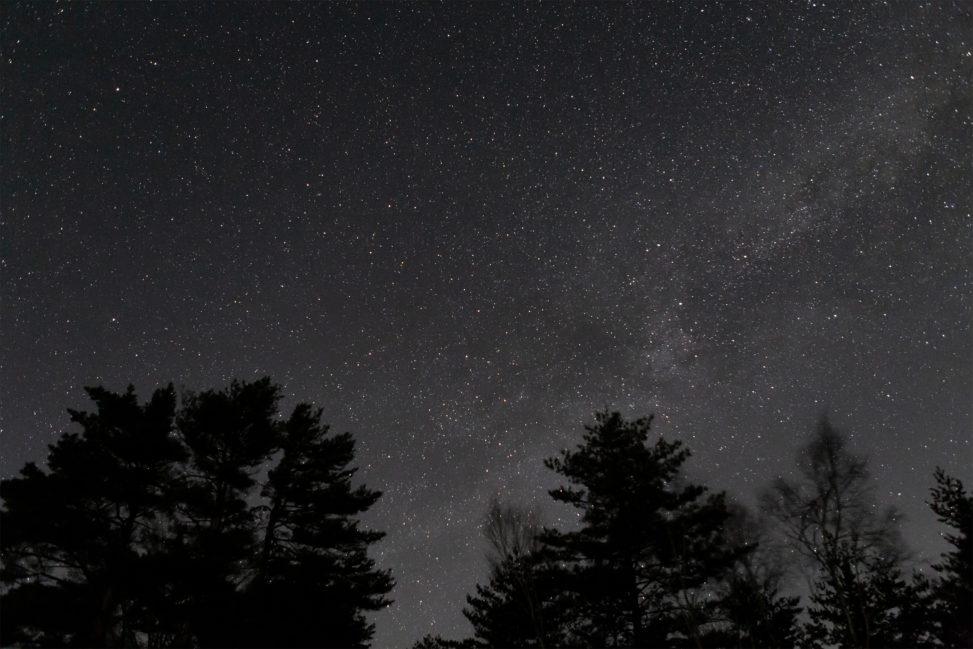 星空・天の川の写真素材