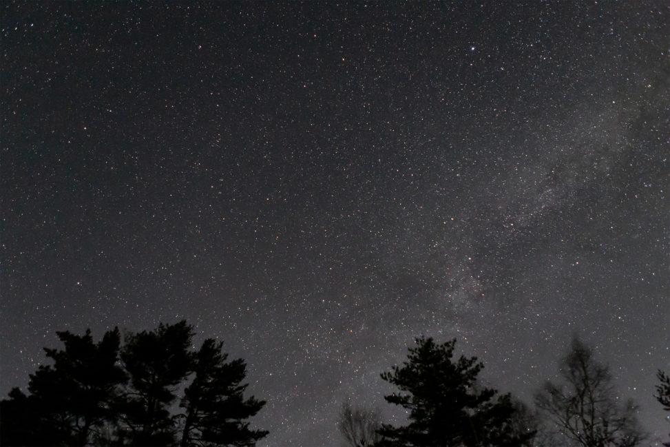 星空・天の川02の写真素材