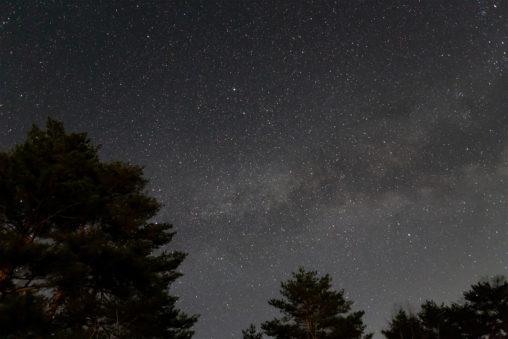 星空・天の川03の写真素材