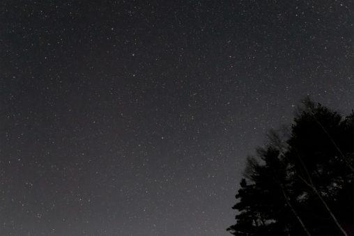 満点の星空02の写真素材