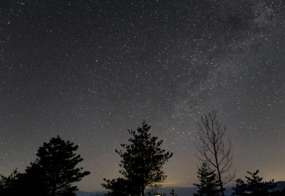 5月の天の川02の写真素材