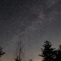 満点の星空と天の川02の写真素材