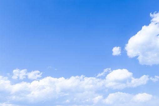 青空と雲04の写真素材