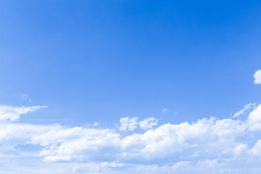 青空と雲05の写真素材