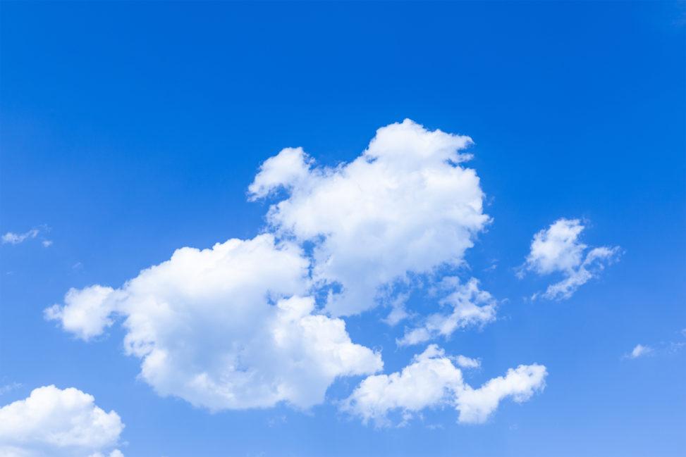 青空と雲06の写真素材