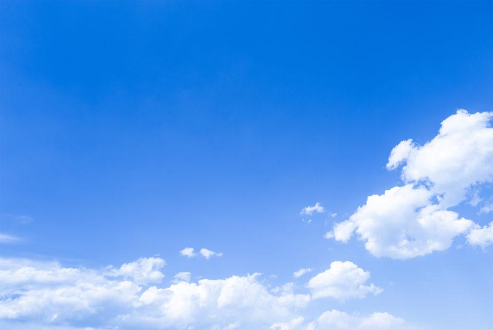 青空と雲07の写真素材