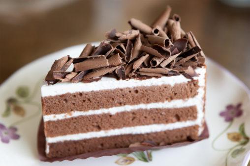 チョコレートケーキ02の写真素材
