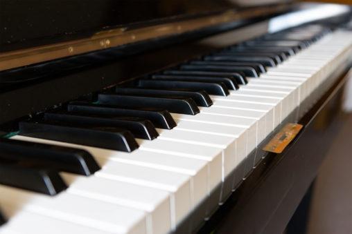 ピアノの鍵盤03の写真素材