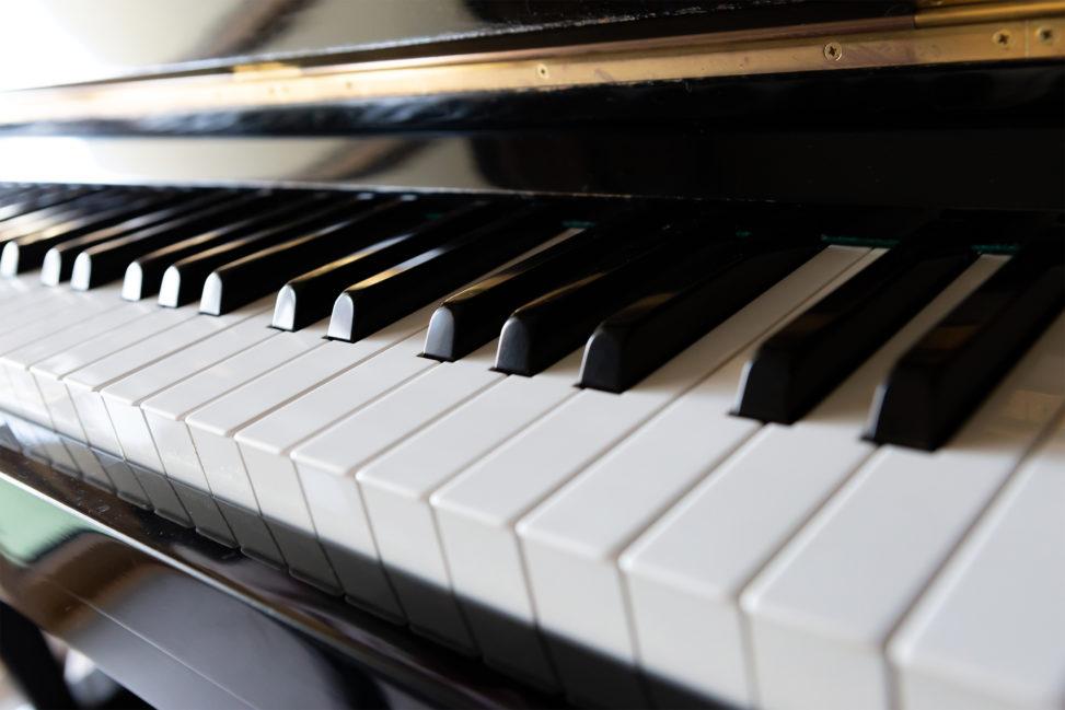 ピアノの鍵盤05の写真素材