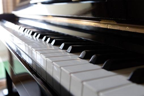 ピアノの鍵盤06の写真素材