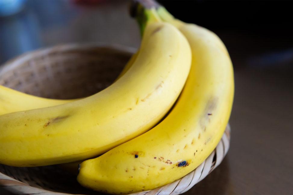 バナナ(2本)の写真素材