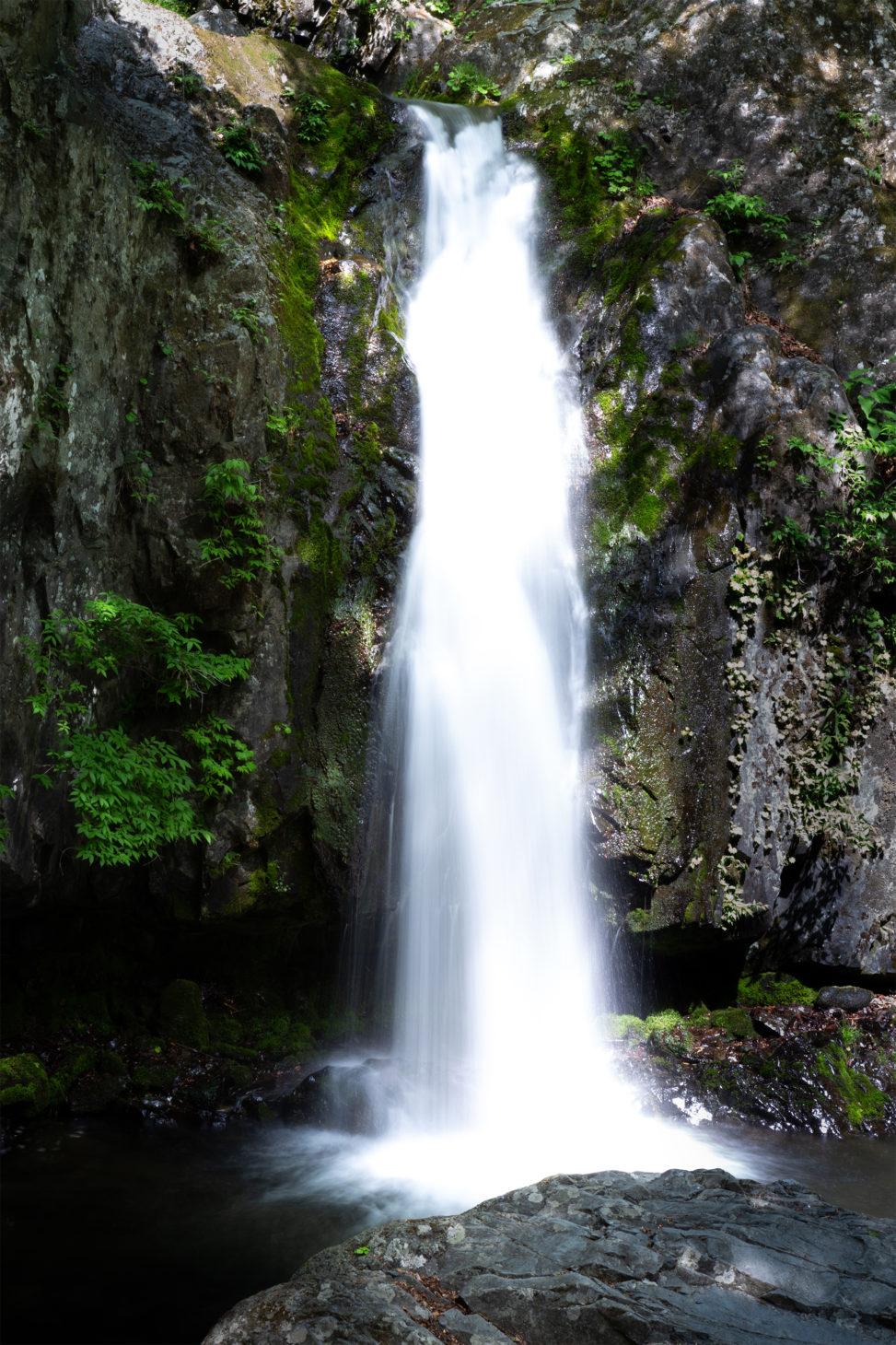 山奥の滝02の写真素材