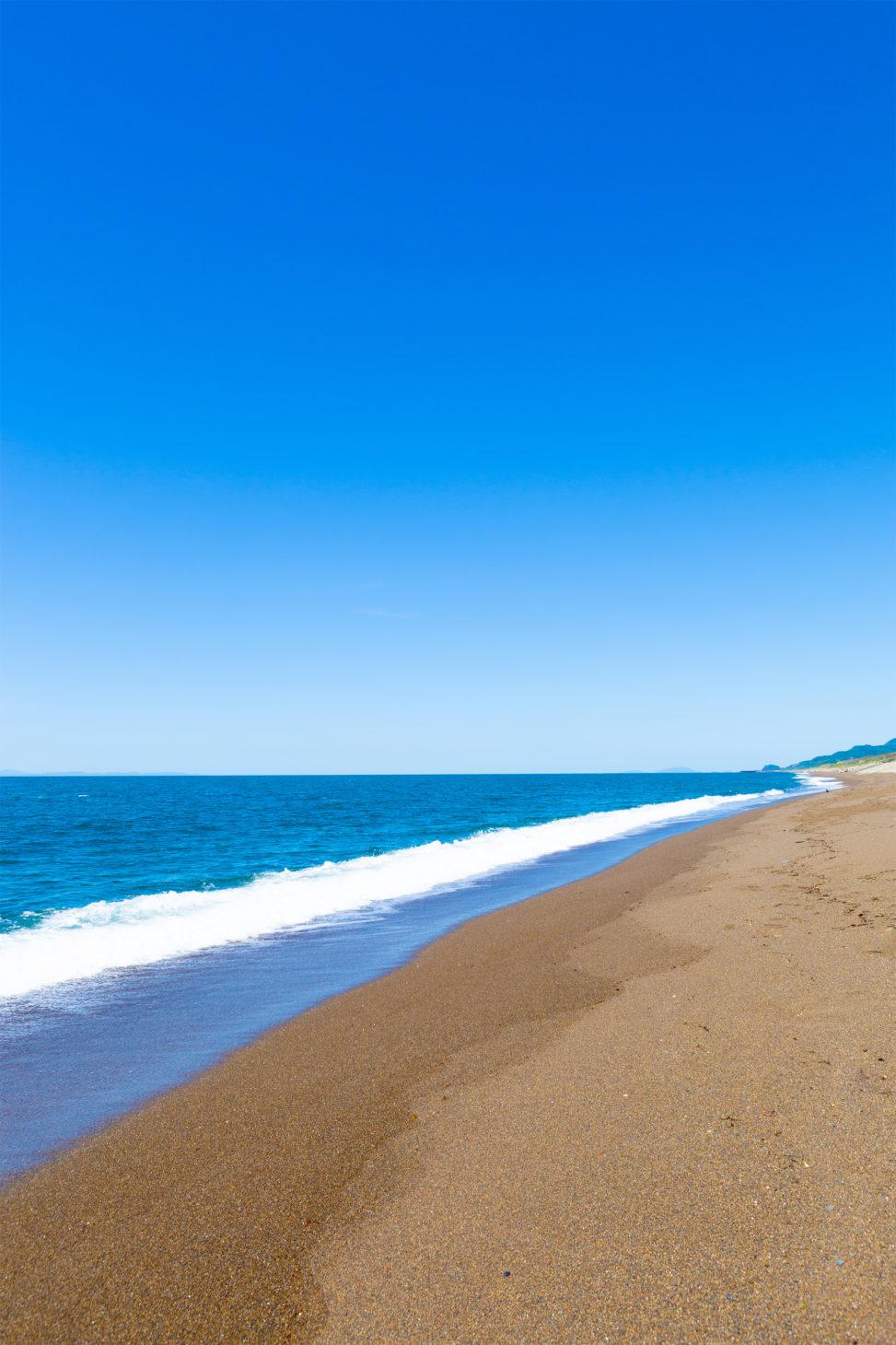海 日本海 と砂浜02 無料の高画質フリー写真素材 イメージズラボ