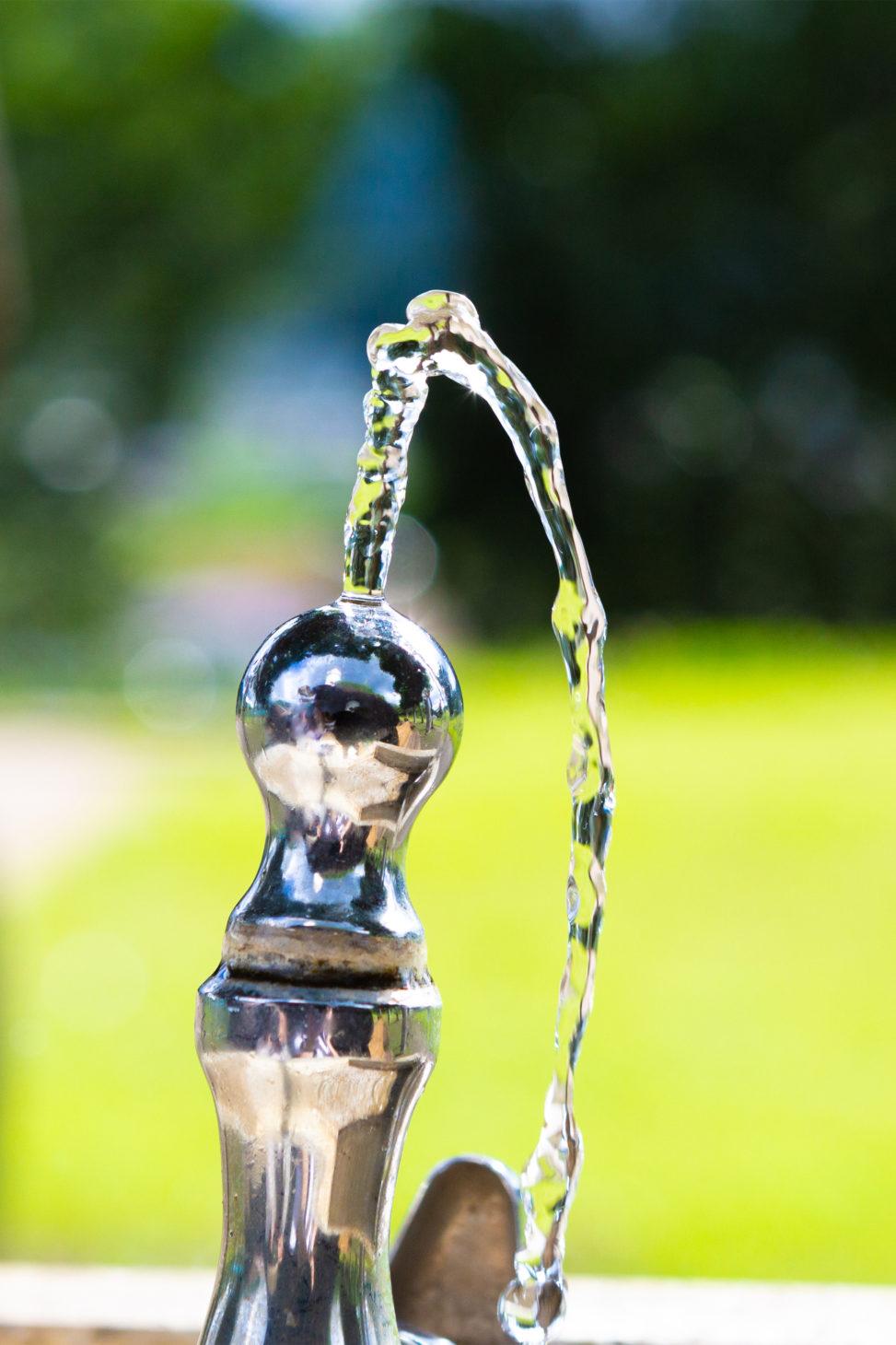 公園の水飲み場02の写真素材