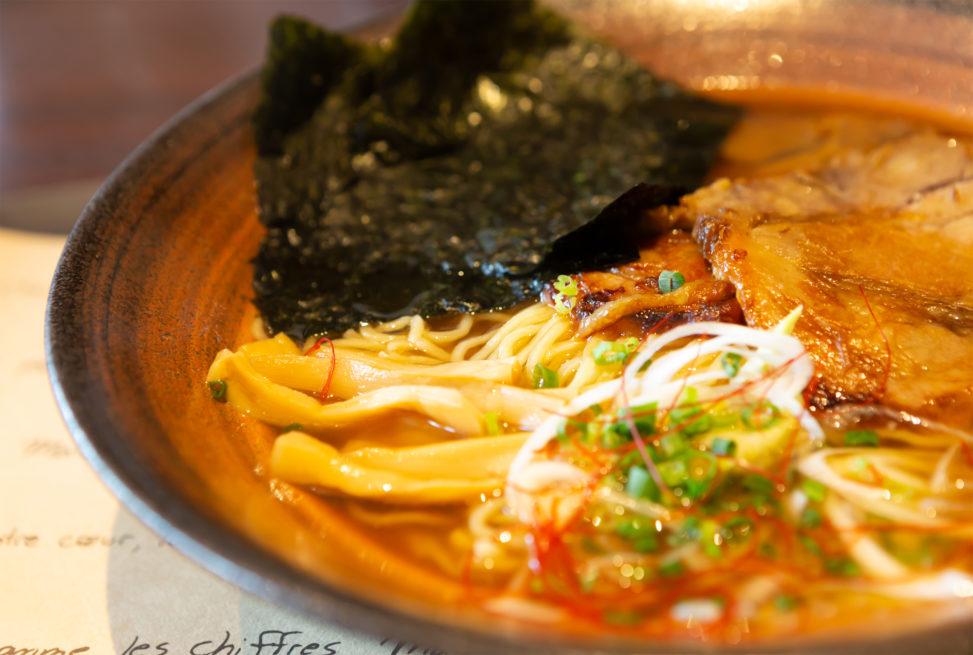 チャーシュー麺・ラーメンの写真素材