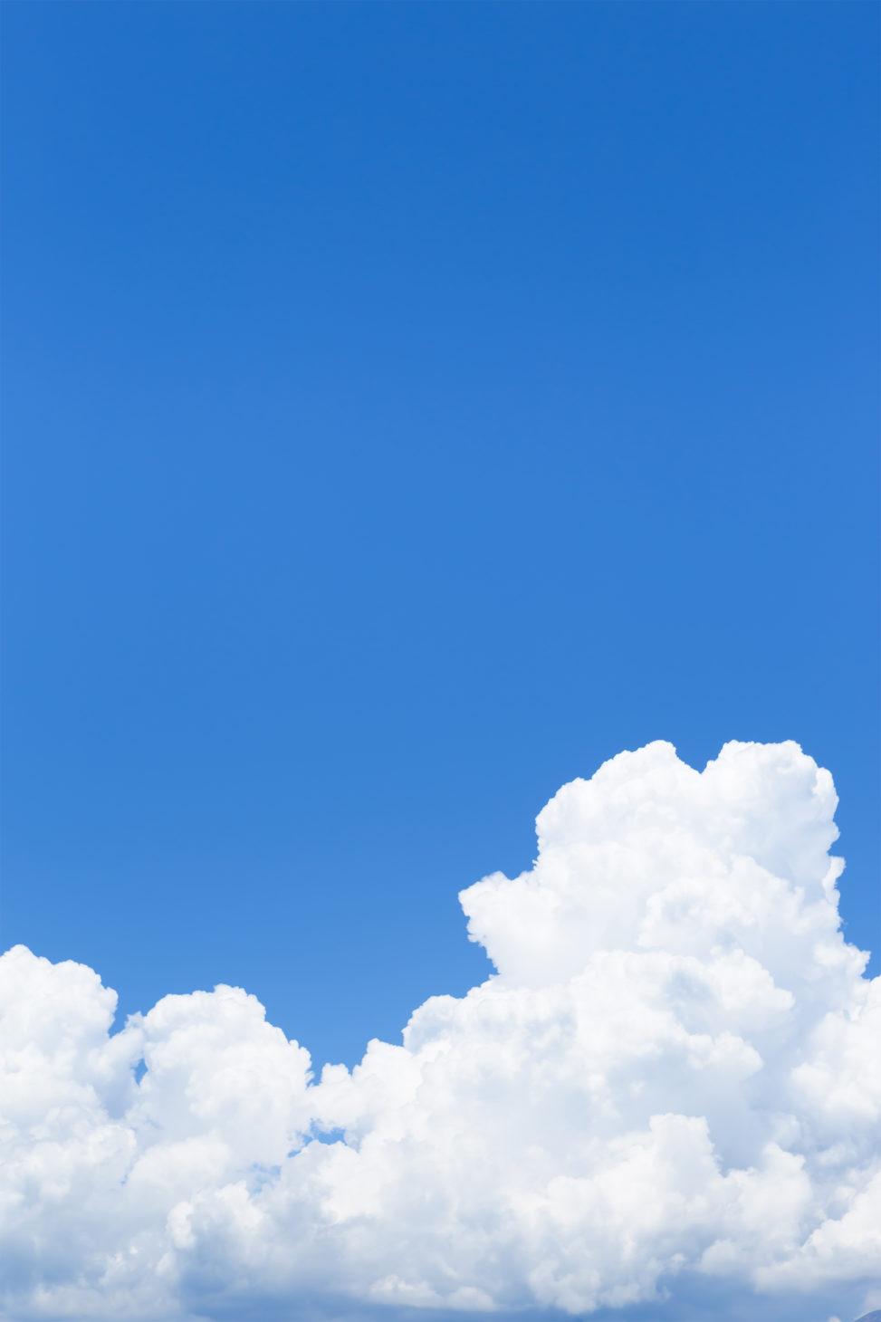 真夏の入道雲02の写真素材