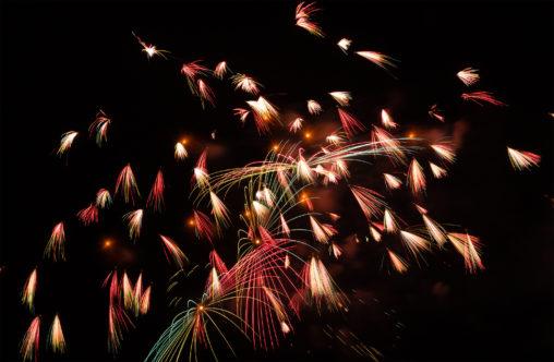打ち上げ花火09の写真素材