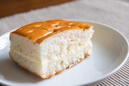 牛乳パンのフリー写真素材