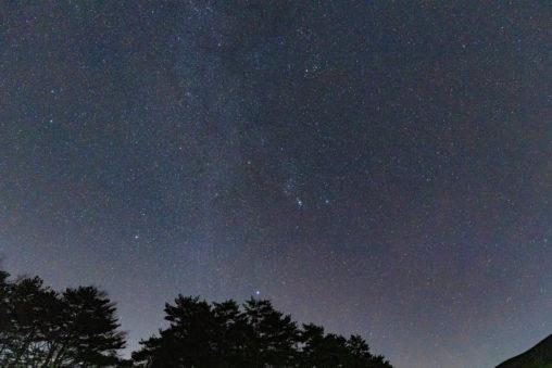 冬の星空の写真