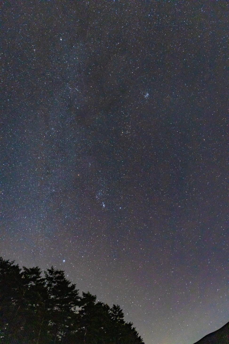 冬の星空_2の写真