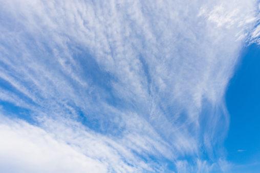 すじ雲/巻雲の写真