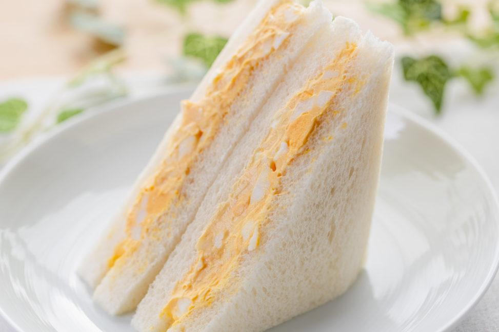 たまごサンドイッチの写真