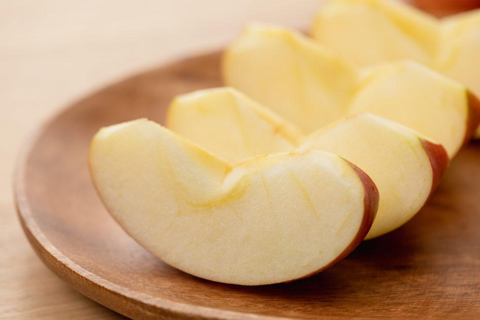 カットされたリンゴ/林檎_2の写真