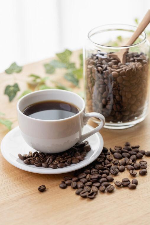 コーヒー/珈琲とコーヒー豆_2の写真