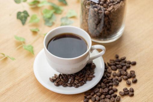 コーヒー/珈琲とコーヒー豆_3の写真