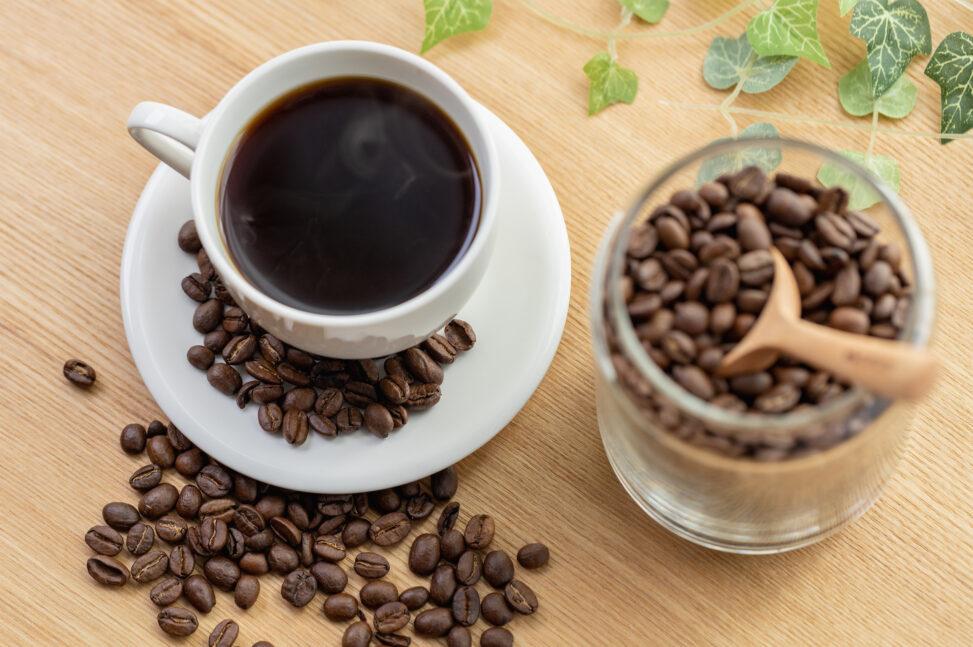 コーヒー/珈琲とコーヒー豆_4の写真