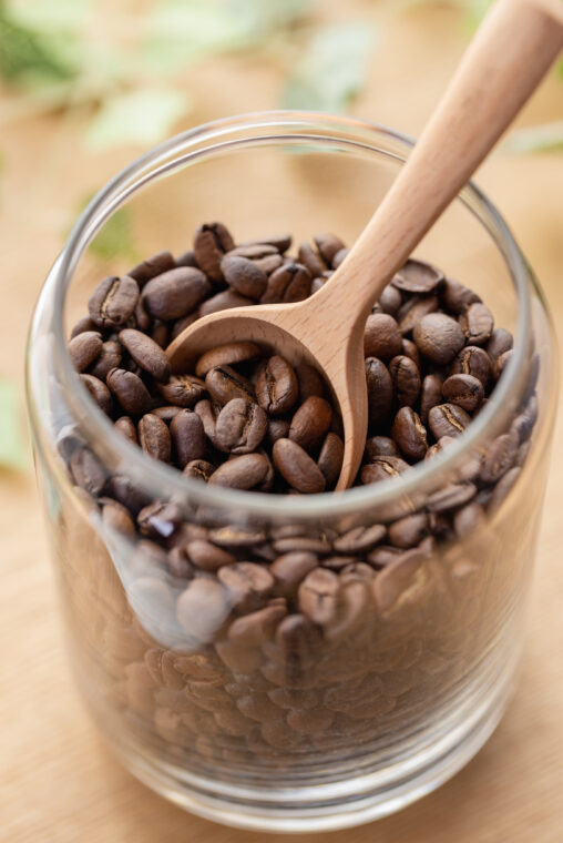 珈琲/コーヒー豆の写真