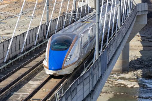 北陸新幹線の写真