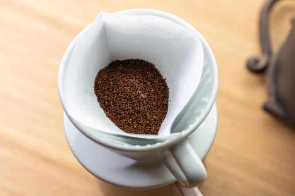 ペーパードリップコーヒー/珈琲の写真